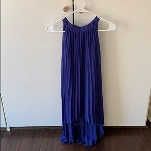 Electric blue dress cute for evening